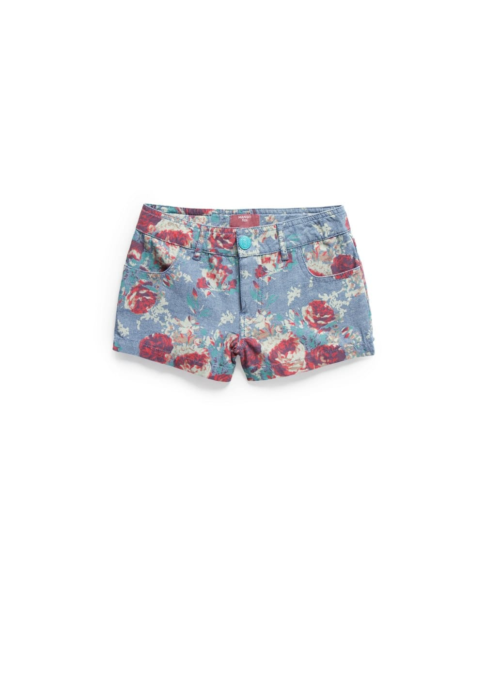 Shorts estampat floral