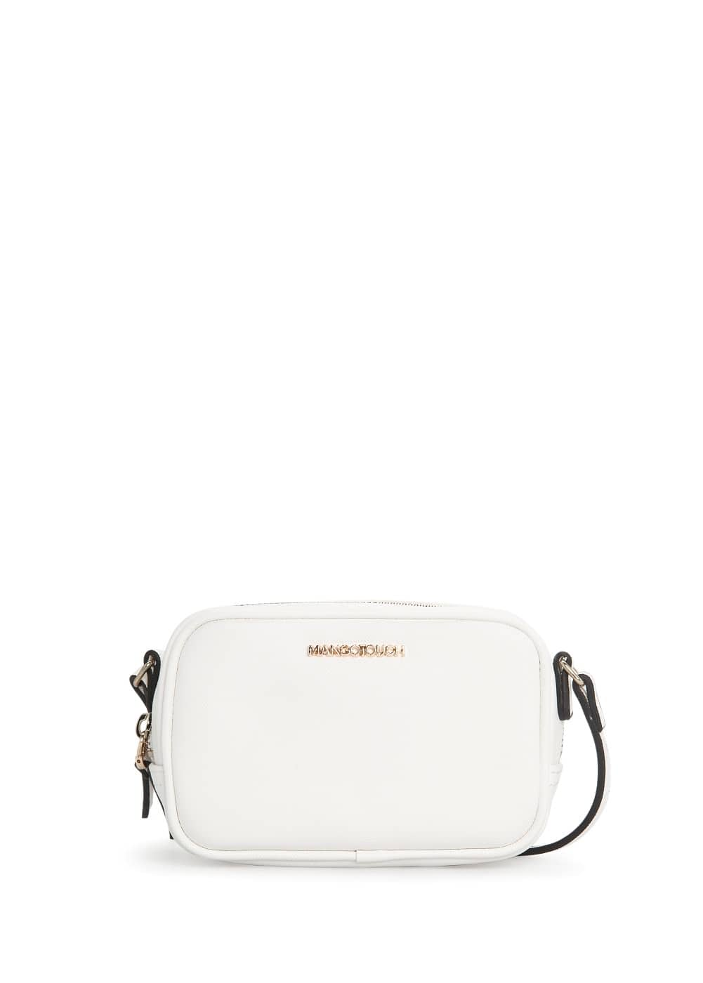 Saffiano-effect mini bag