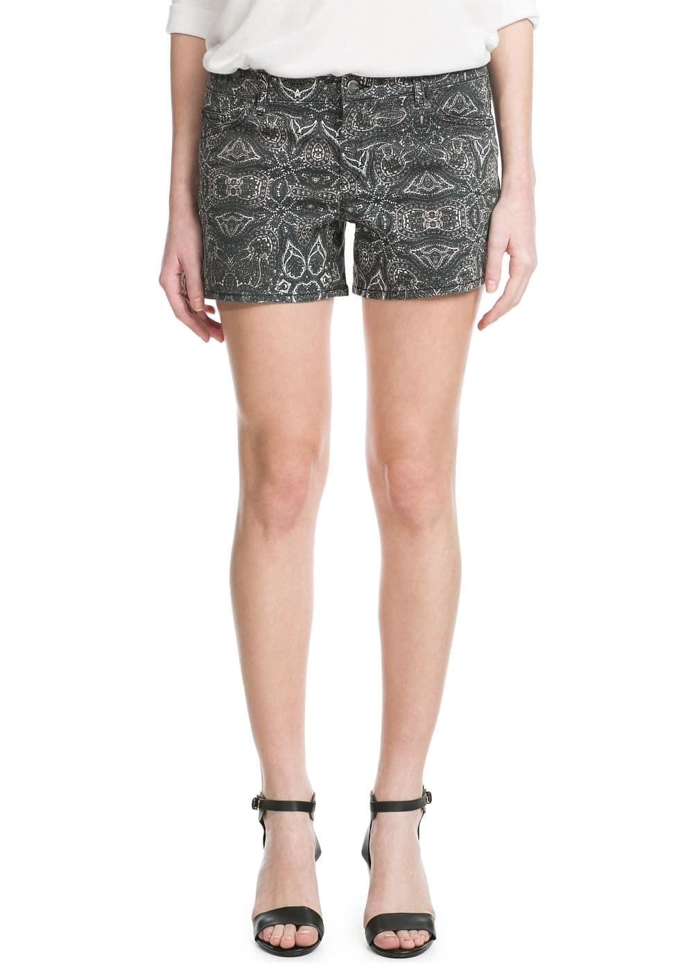 Printed short | MANGO