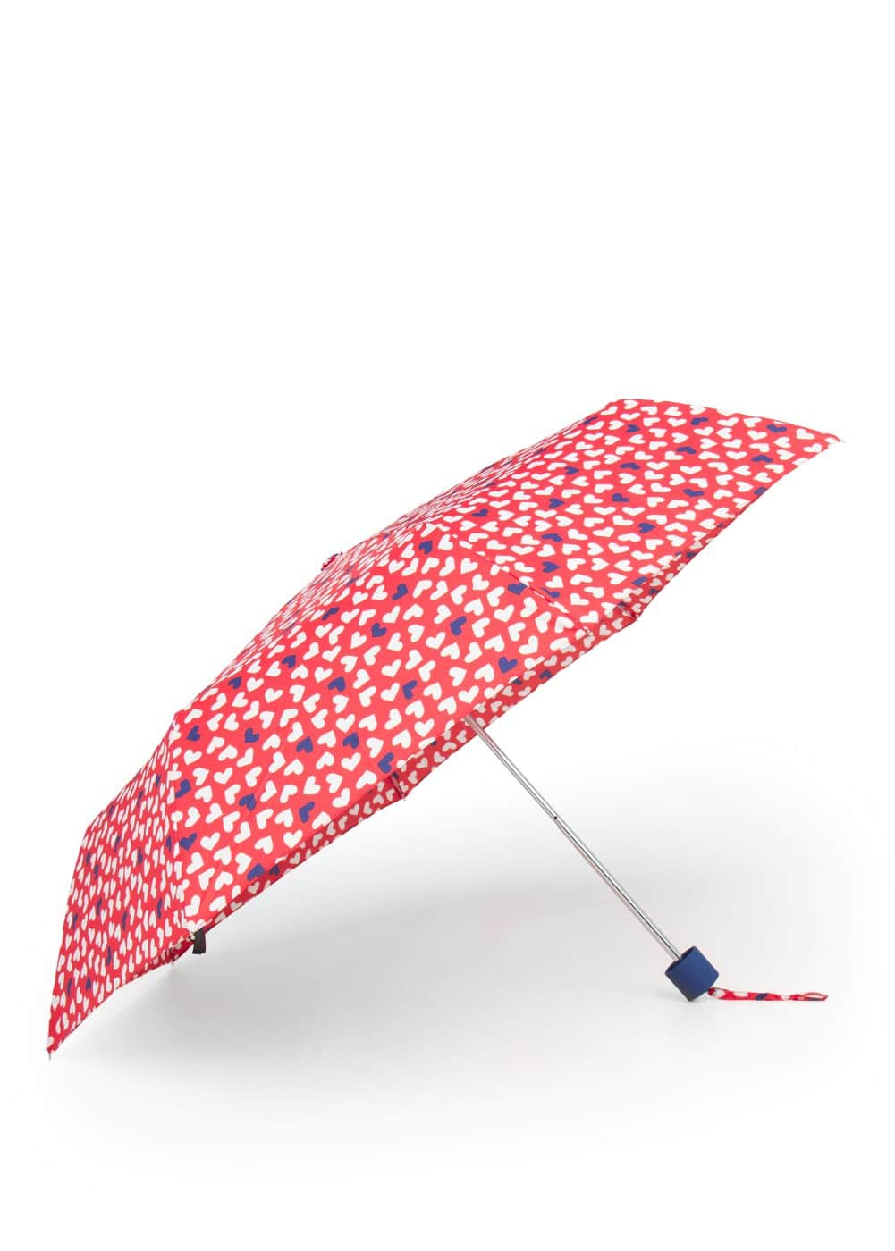 Heart print umbrella