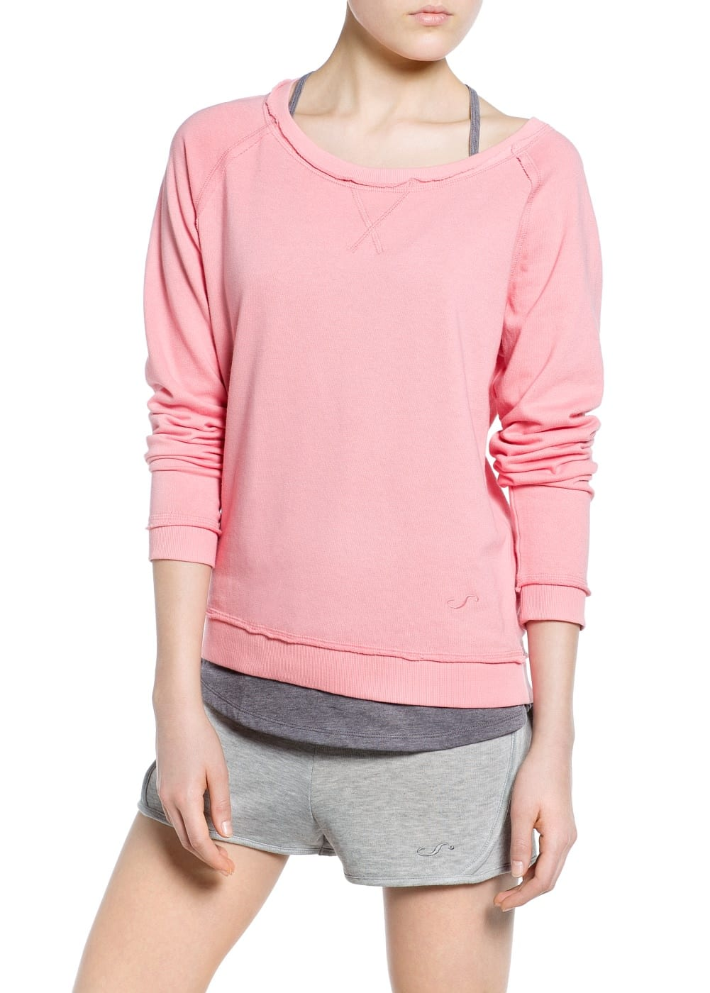 Yoga - relaxed sweatshirt | MANGO