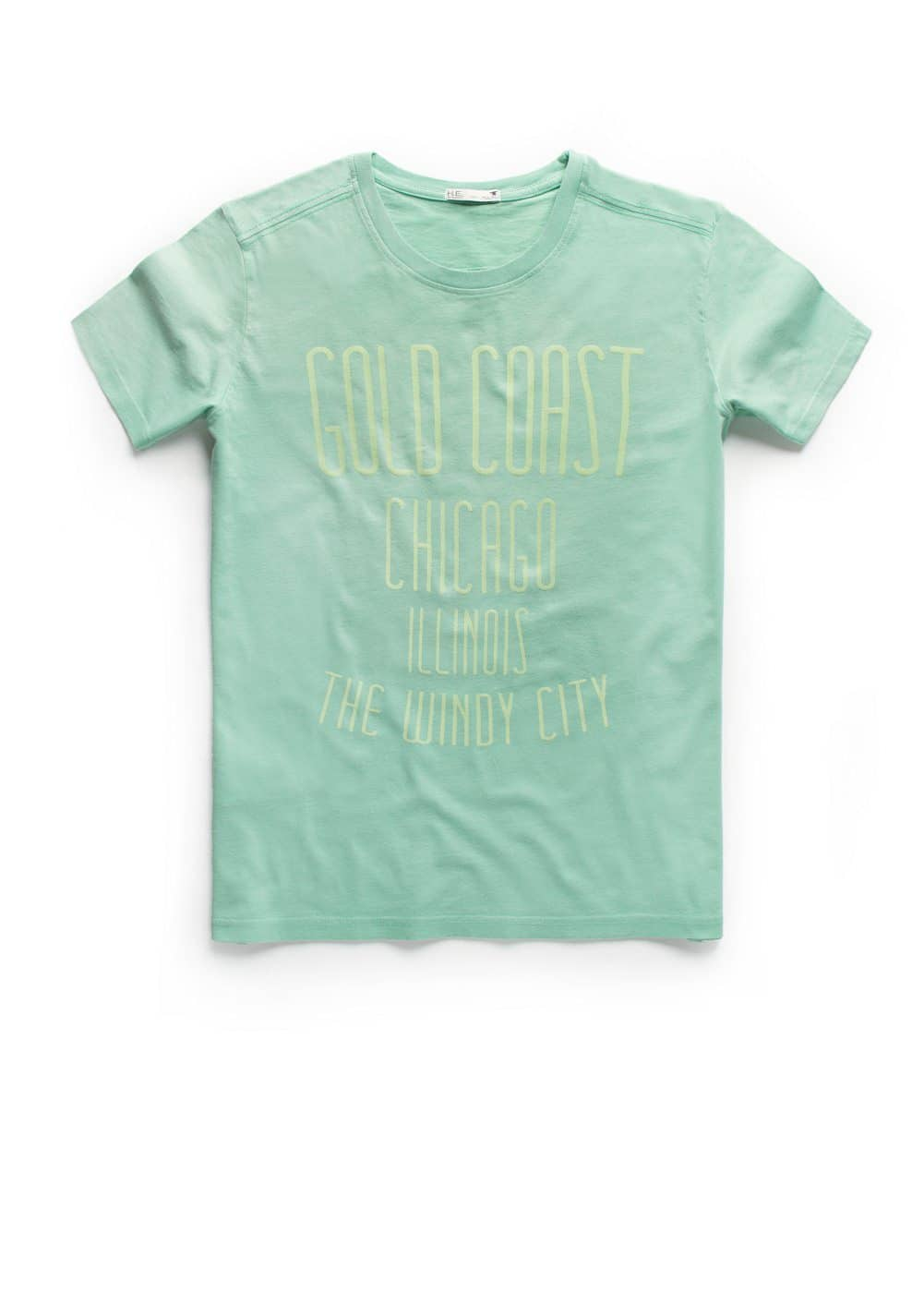 Gold coast t-shirt | MANGO