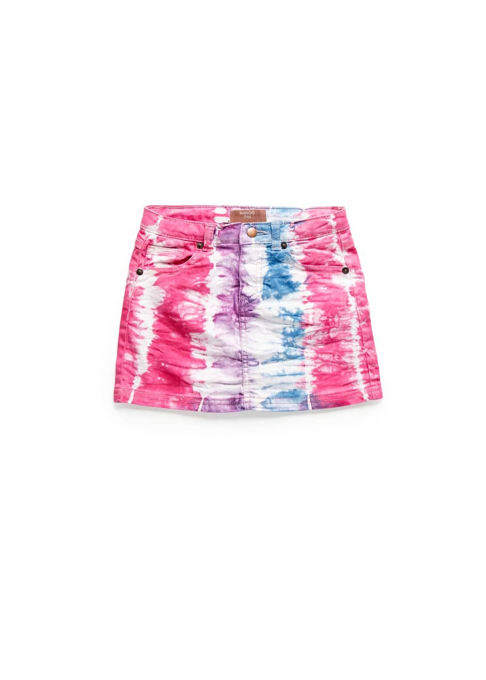 Falda denim tie-dye | MANGO KIDS