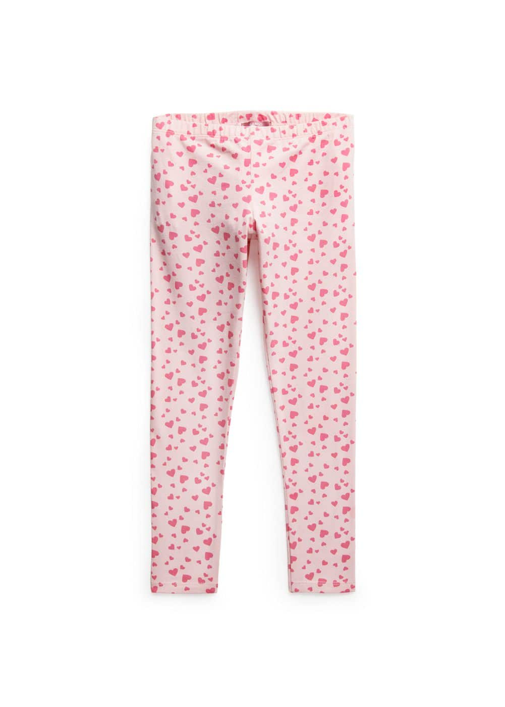 Heart print leggings | MANGO KIDS