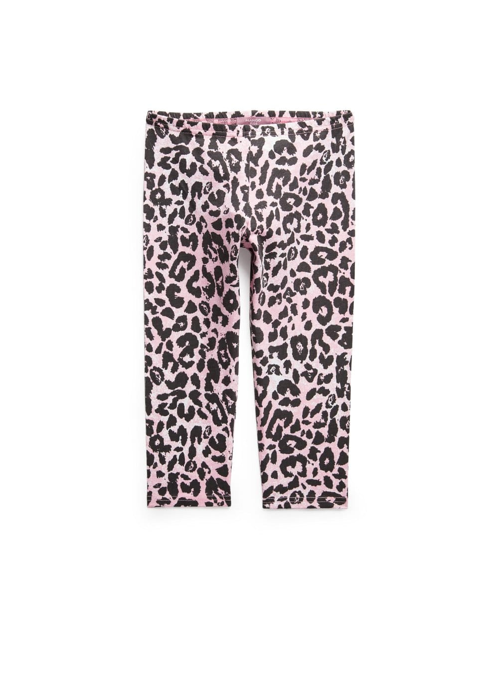 Leopard print leggings | MANGO KIDS