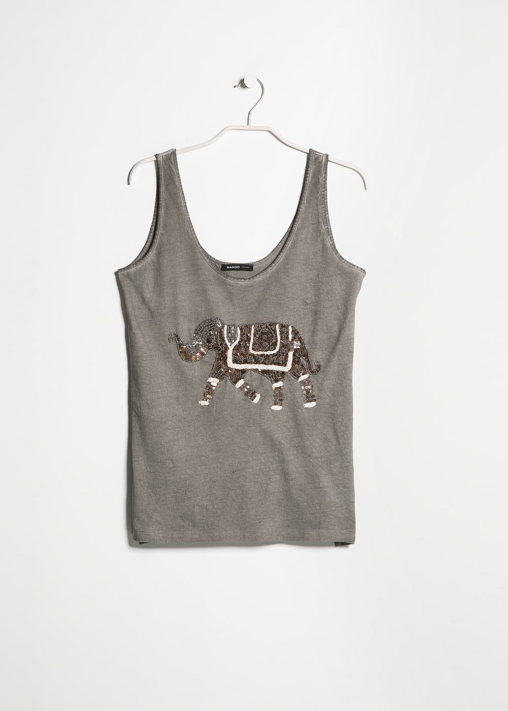 Beaded elephant top