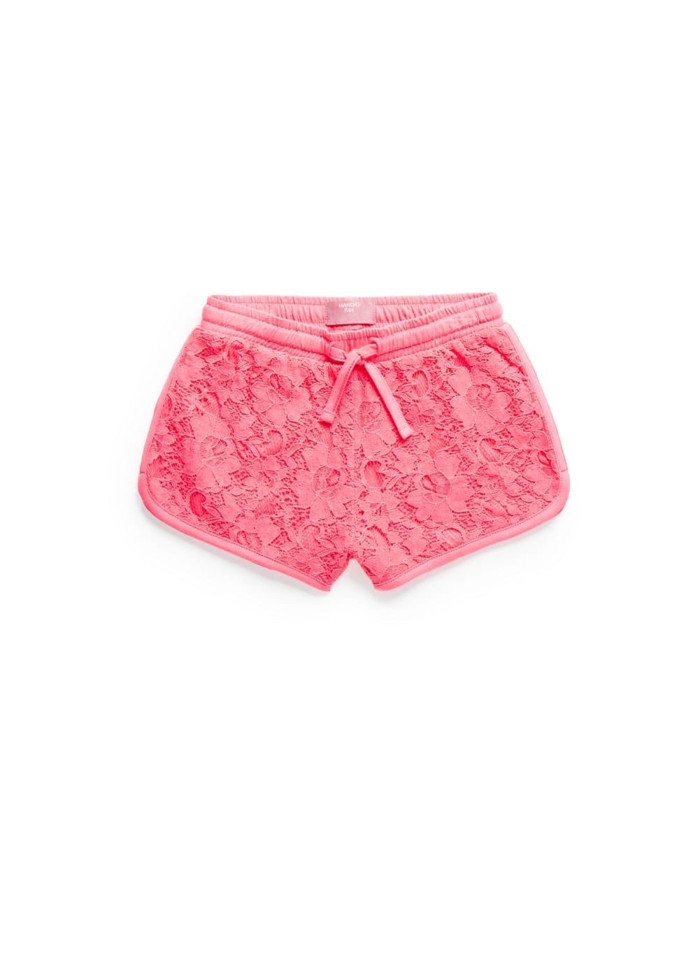 Short de jogging brodé
