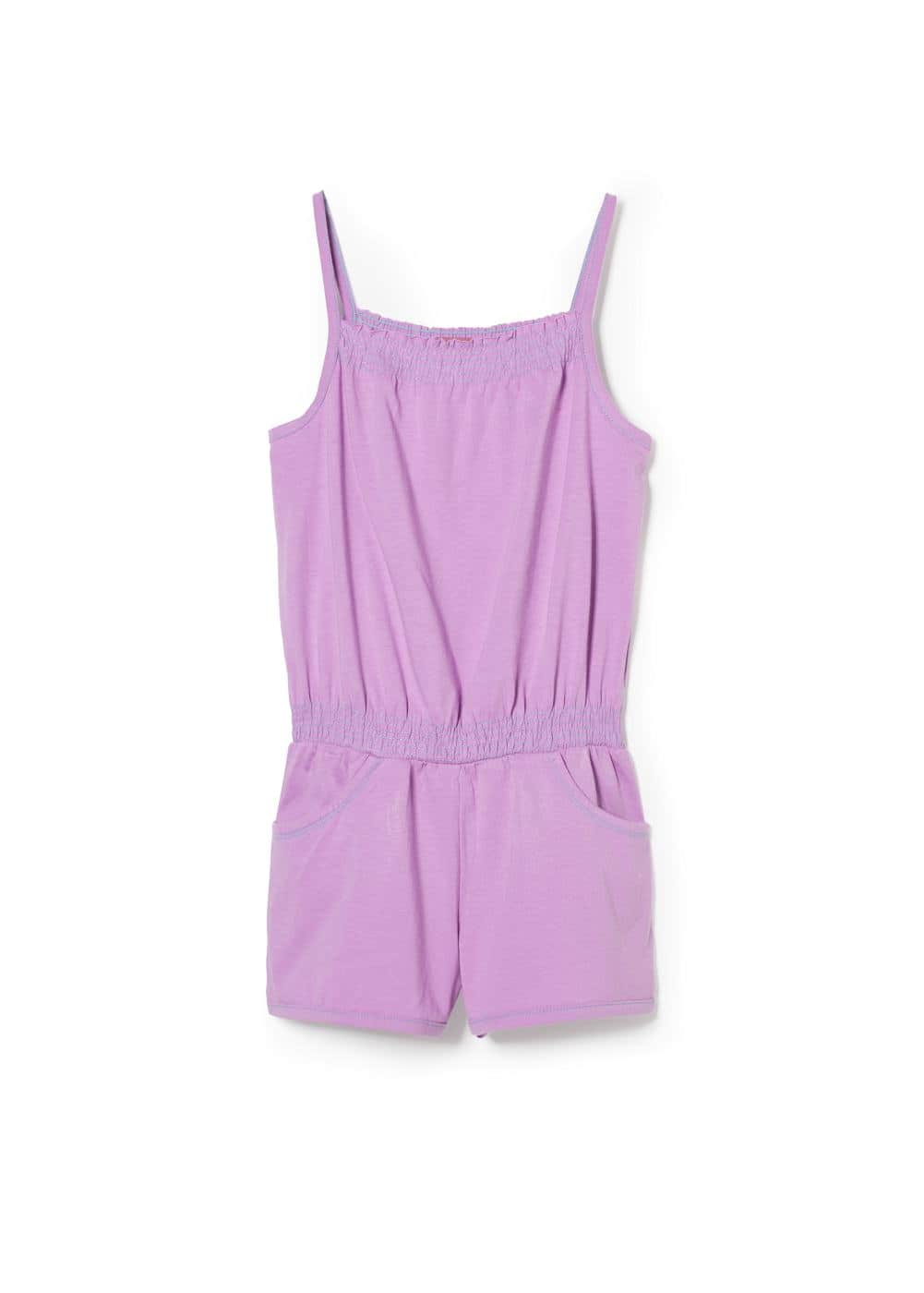 Ruched short jumpsuit