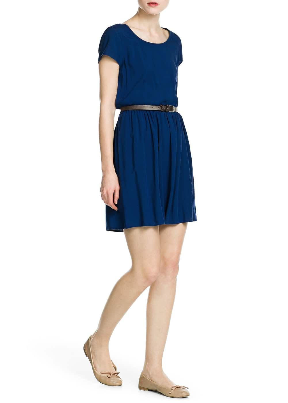 Bow belt dress | MANGO