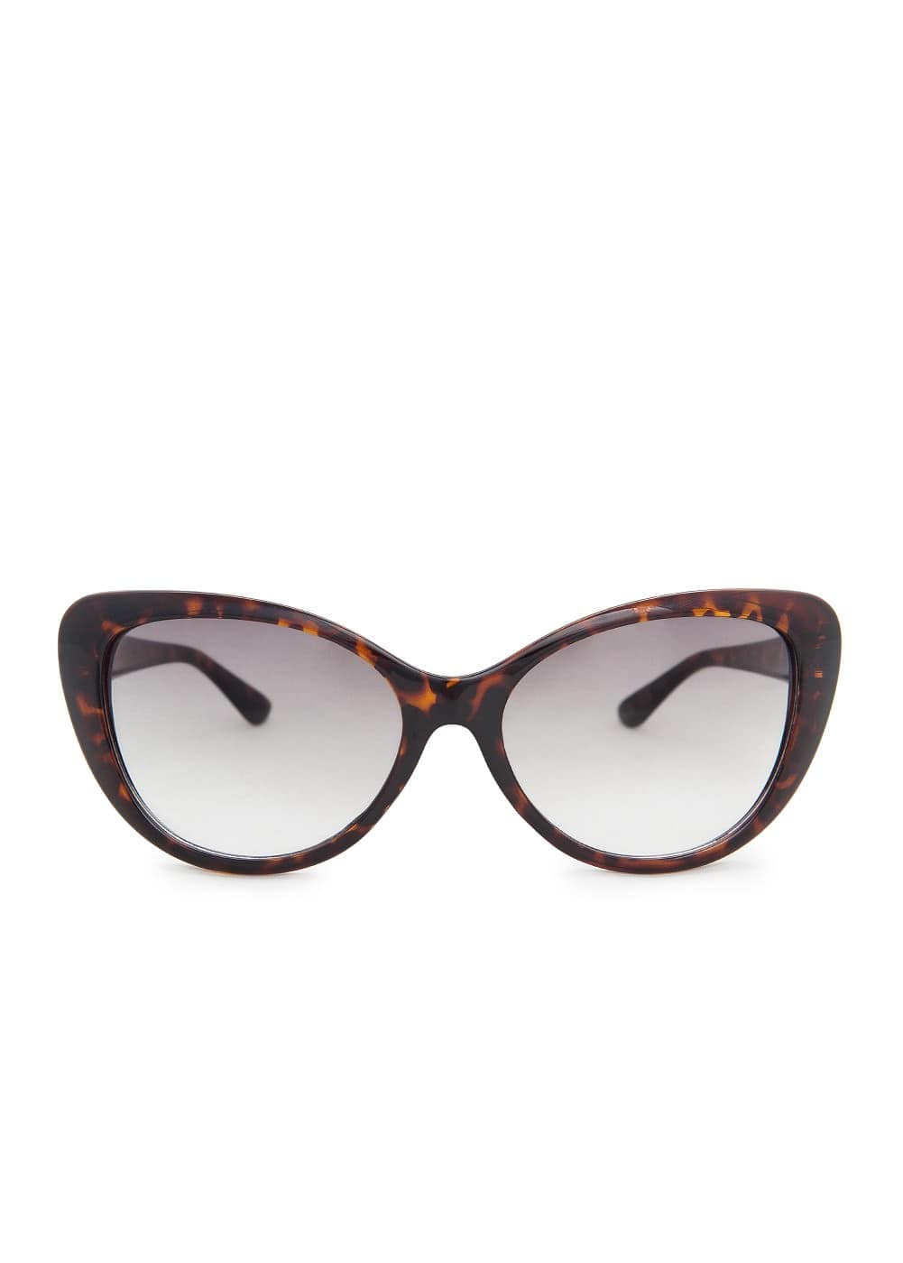 Cat-eye tortoiseshell sunglasses