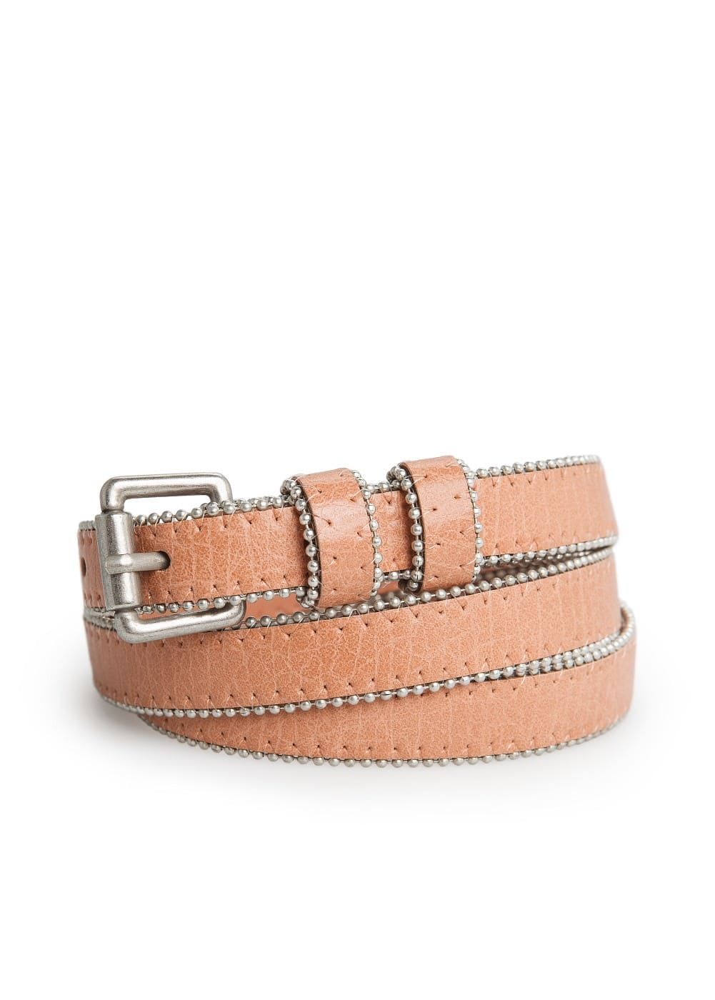 Ball chain skinny belt | MANGO