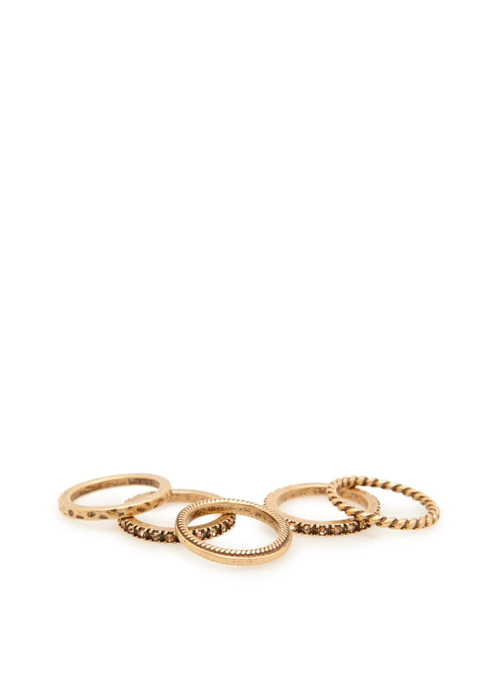 Metal ring set