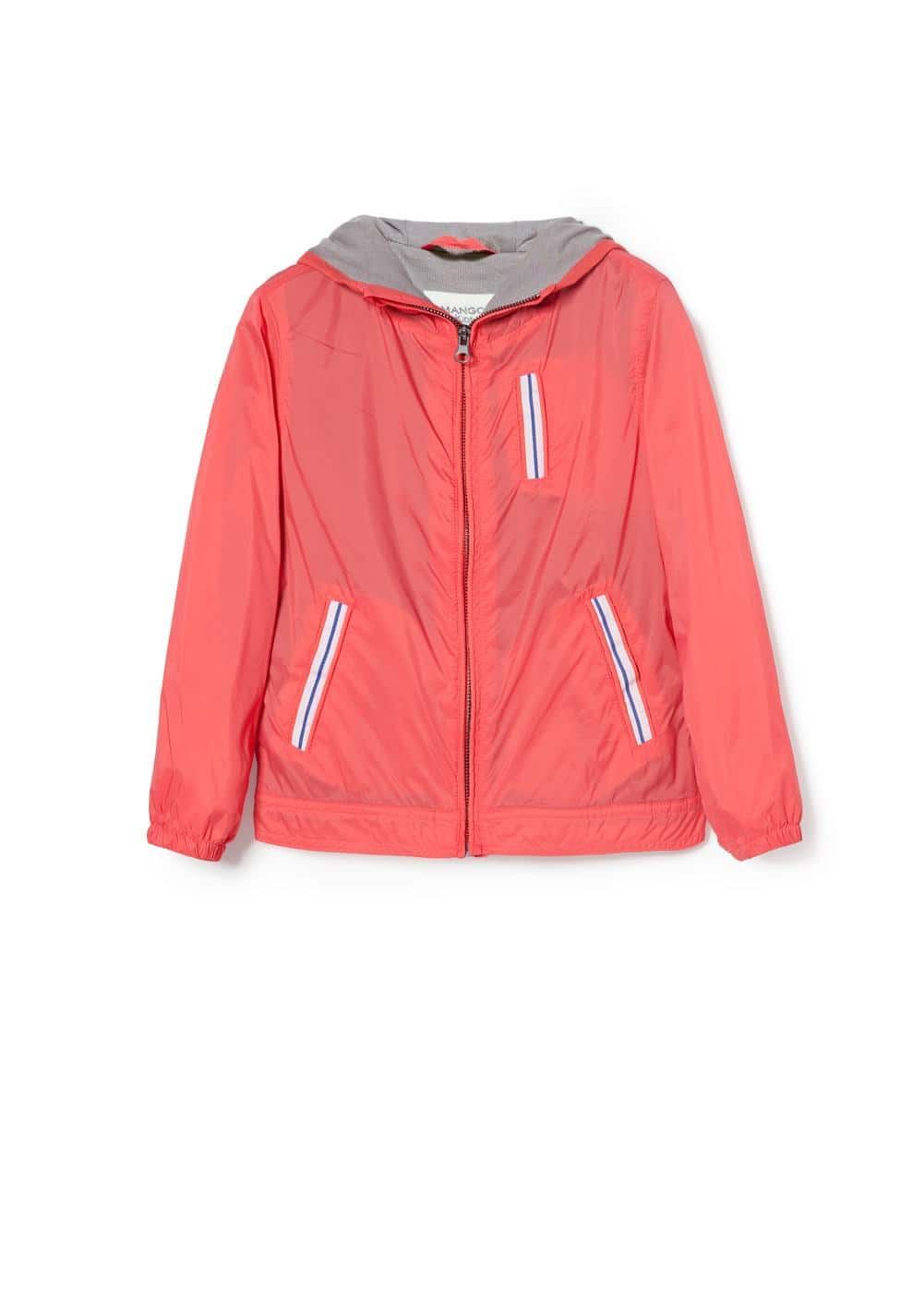 Trim nylon jacket | MANGO