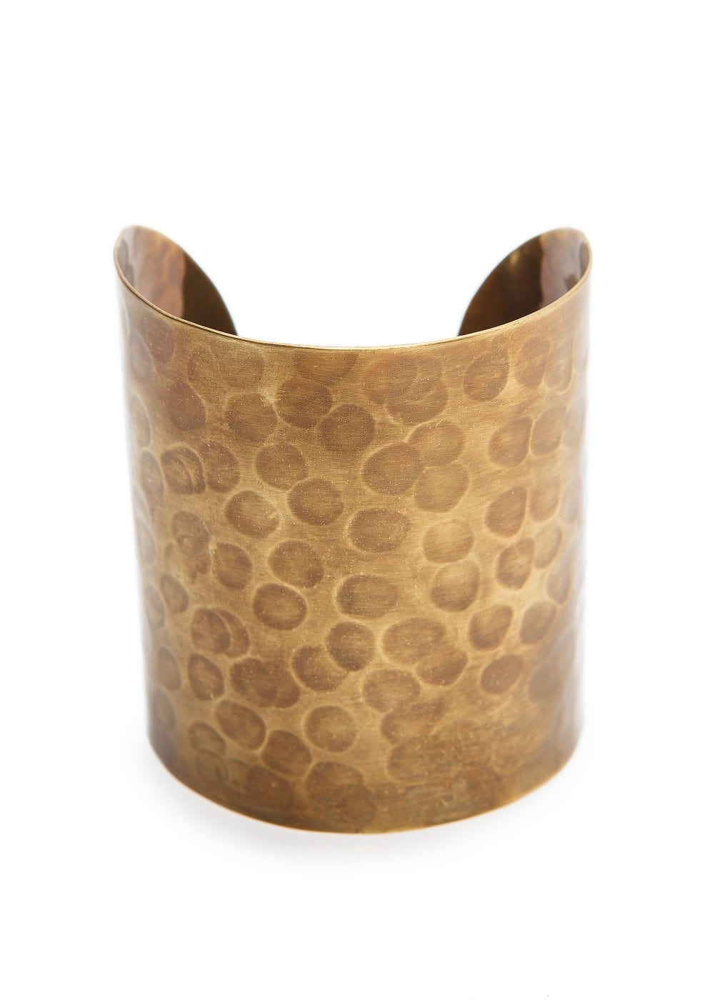 Embossed metal cuff | MANGO