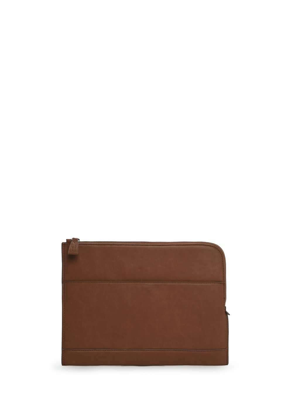 Zip document holder