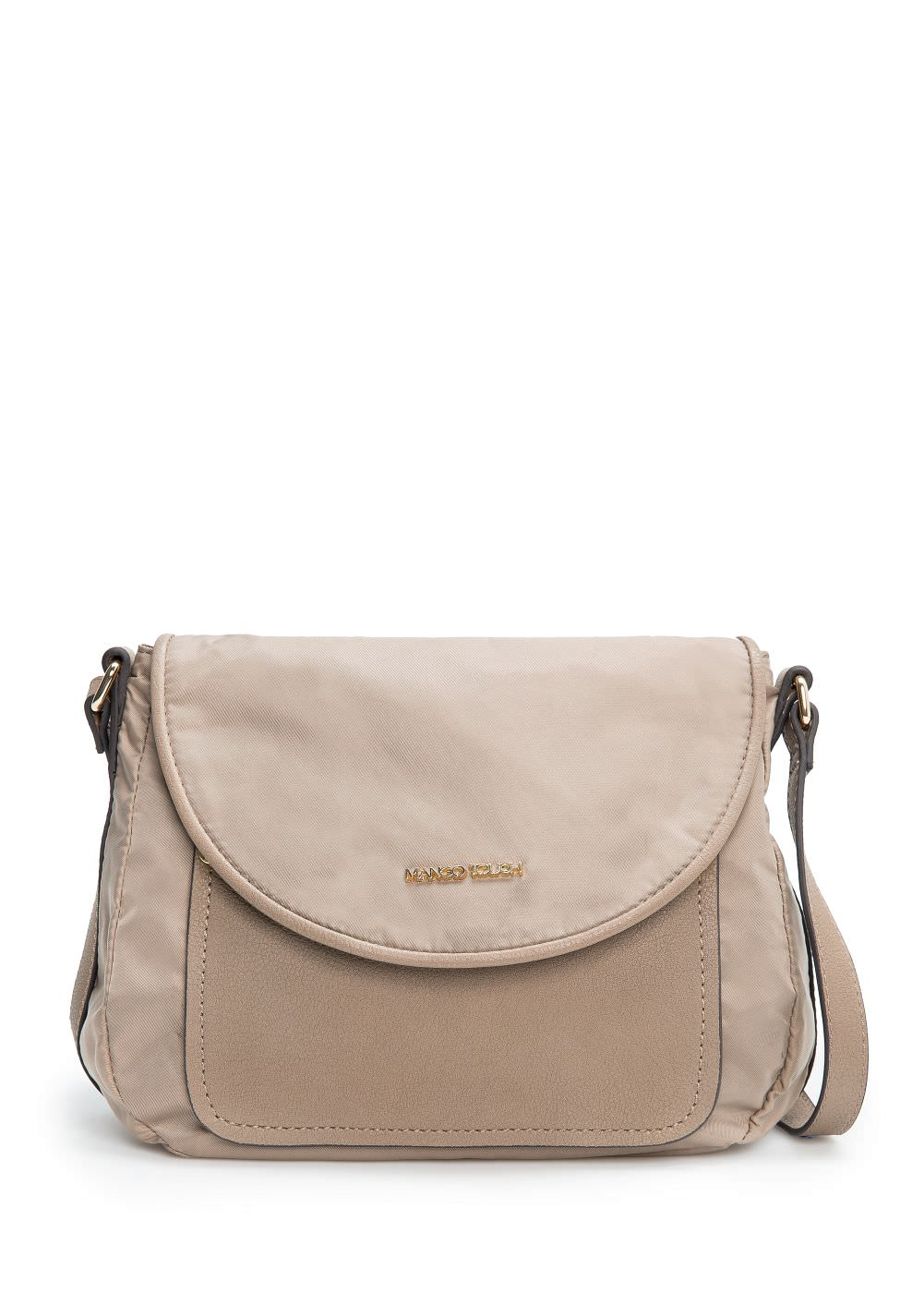 Nylon cross body bag | MANGO