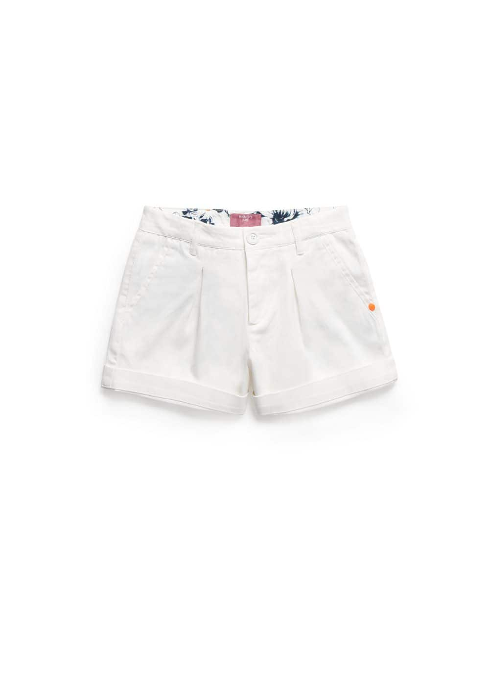 Printed lining shorts | MANGO KIDS