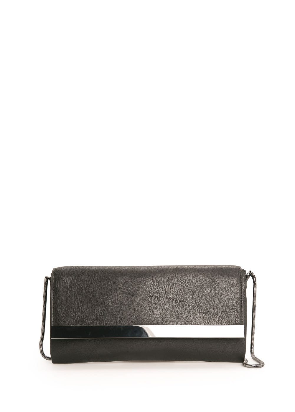 Metal plate clutch | MANGO