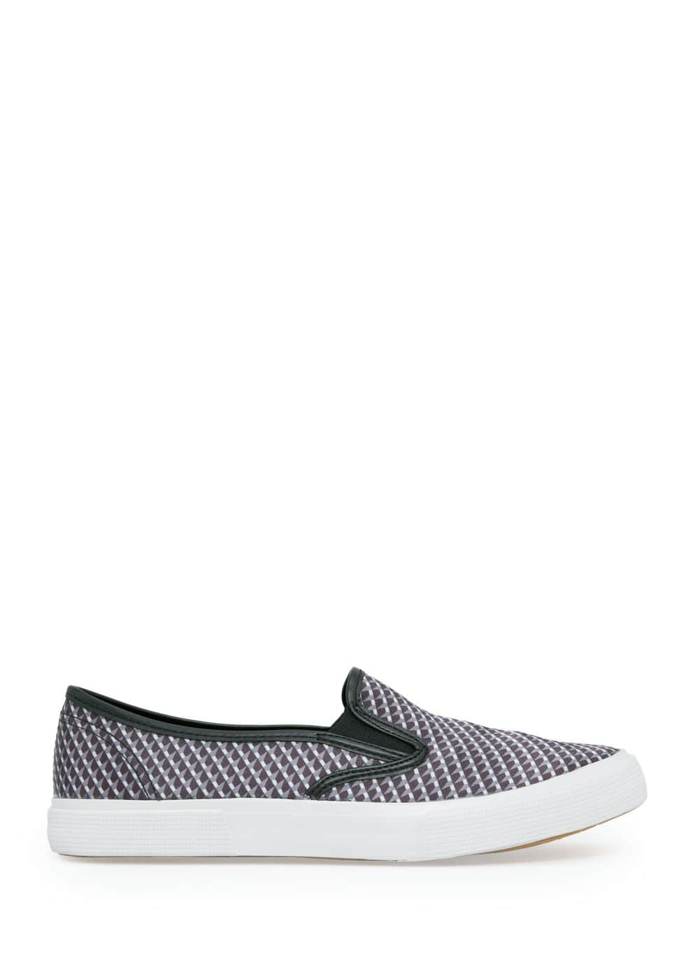Printed slip-on sneakers