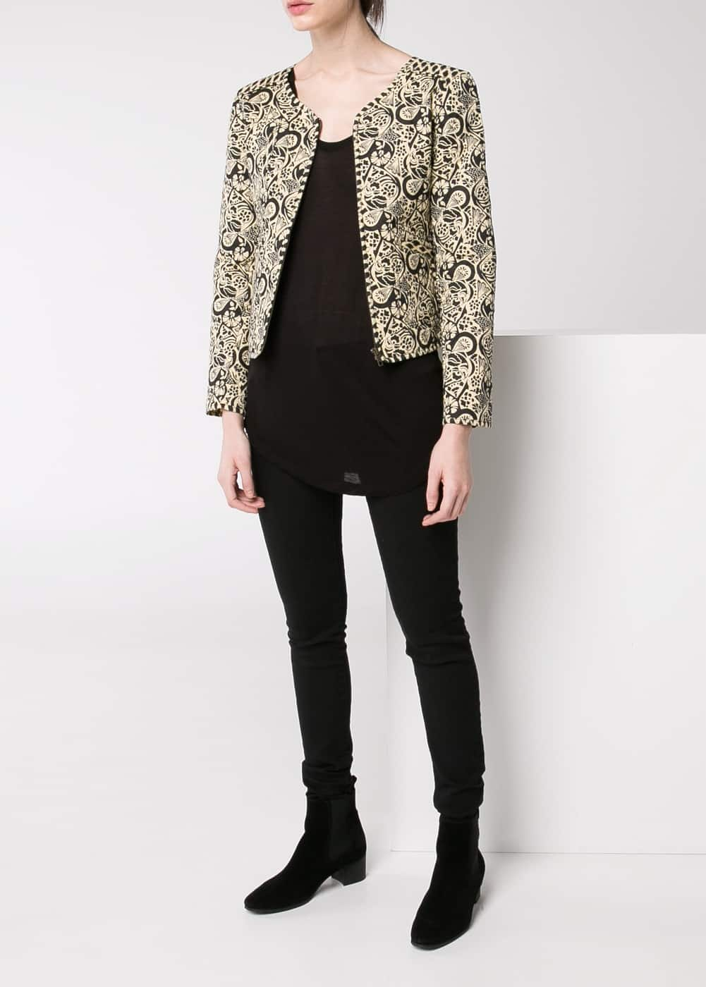 Printed jacket | MANGO