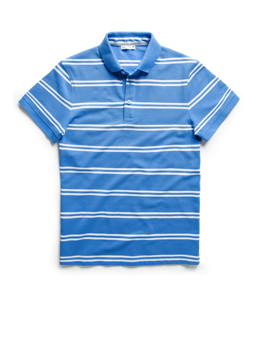 Striped piqué polo shirt | MANGO