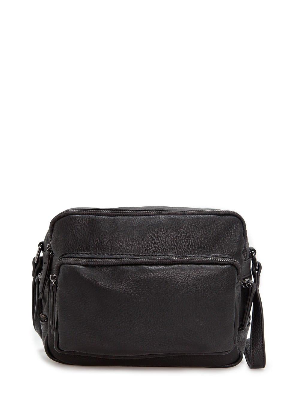Zip cross body bag