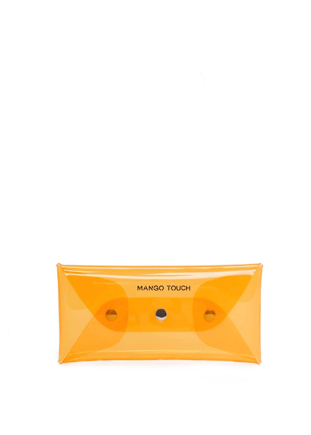 Vinyl cosmetic bag | MANGO