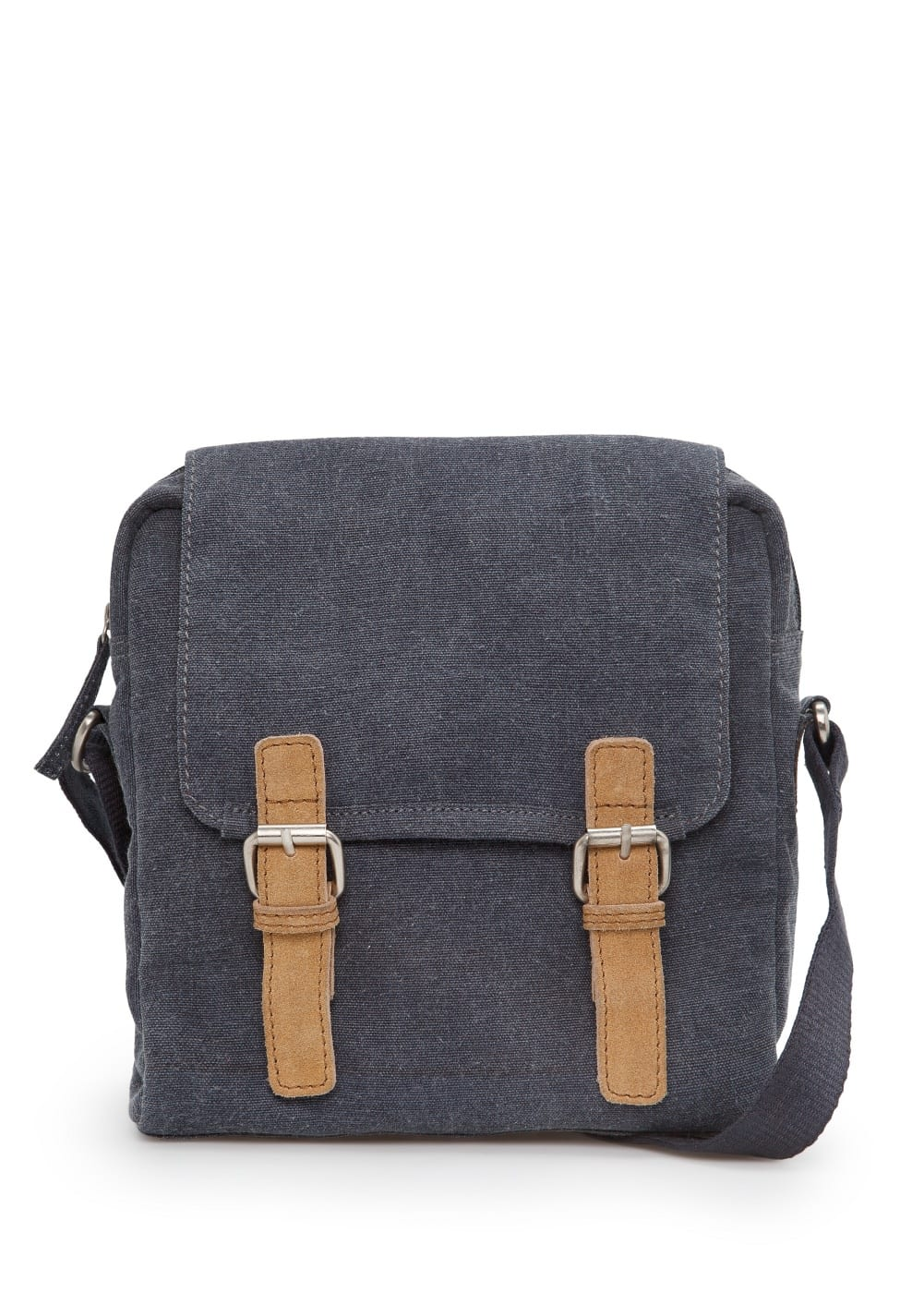 Canvas messenger bag | MANGO