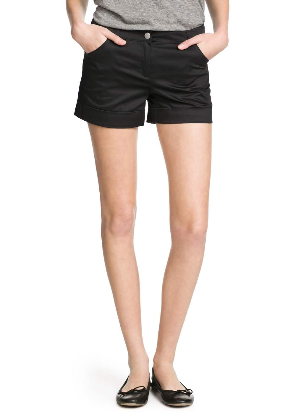 Stretch cotton shorts | MNG