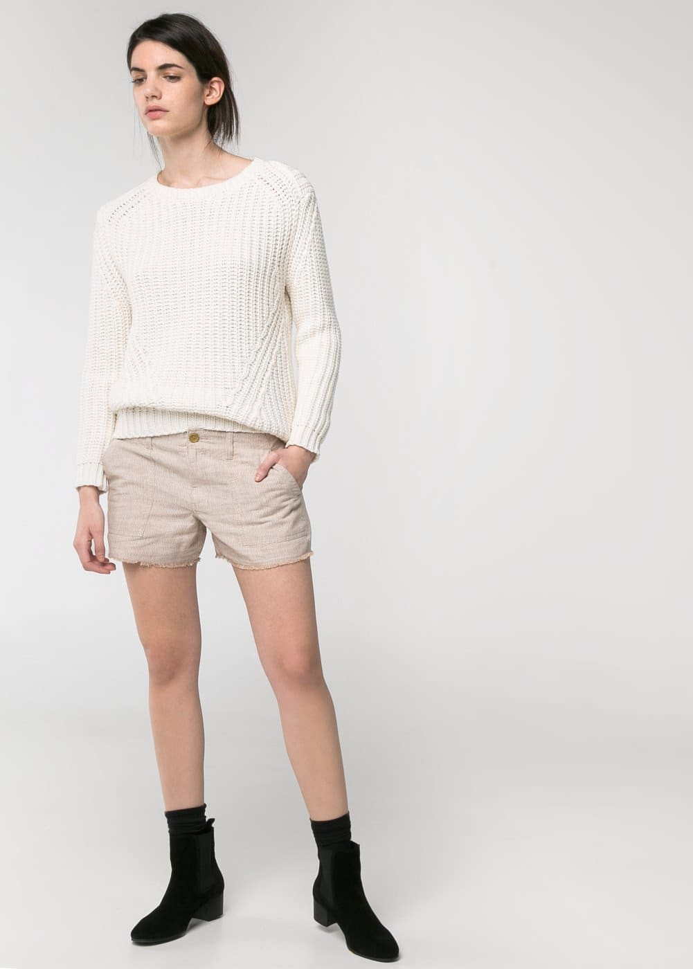 Pull-over grosse maille | MANGO