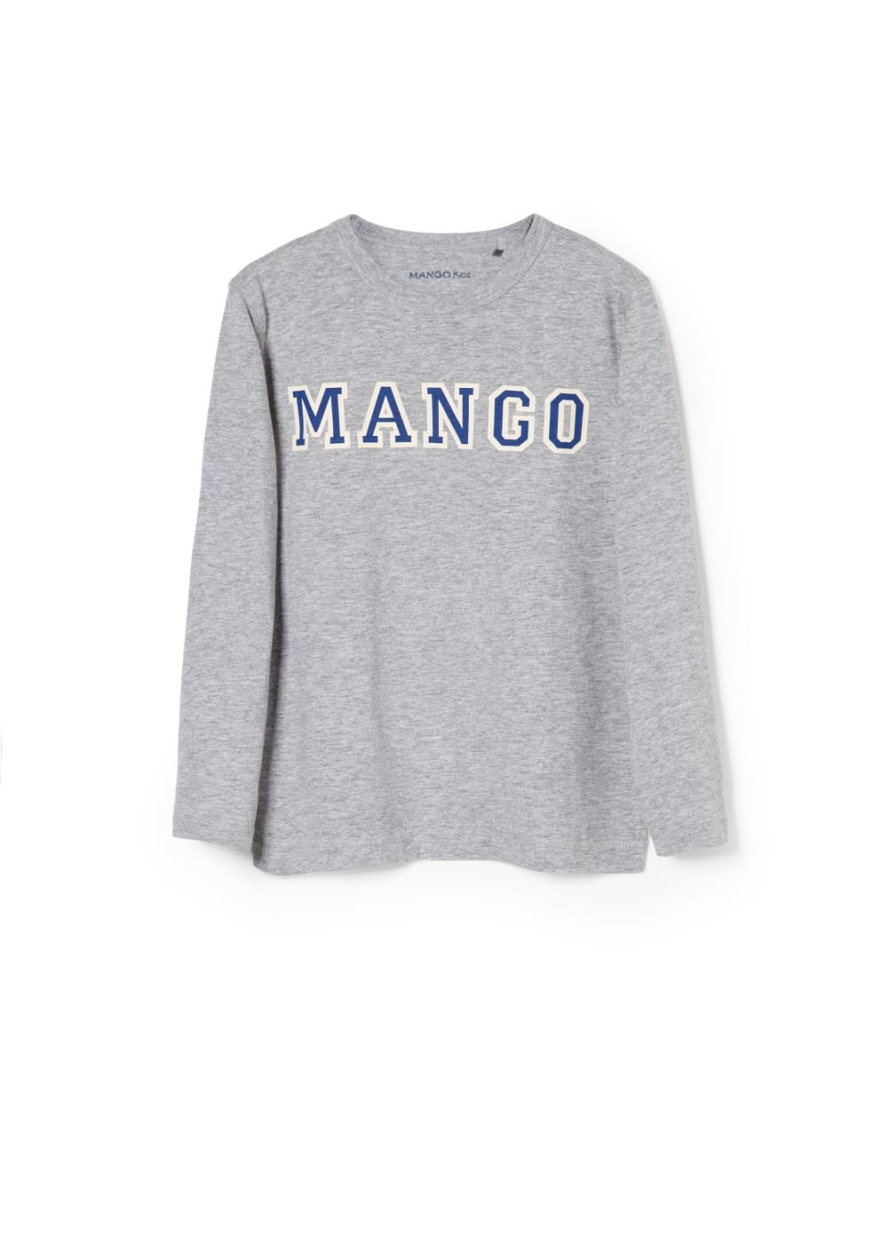 Logo cotton t-shirt | MANGO KIDS