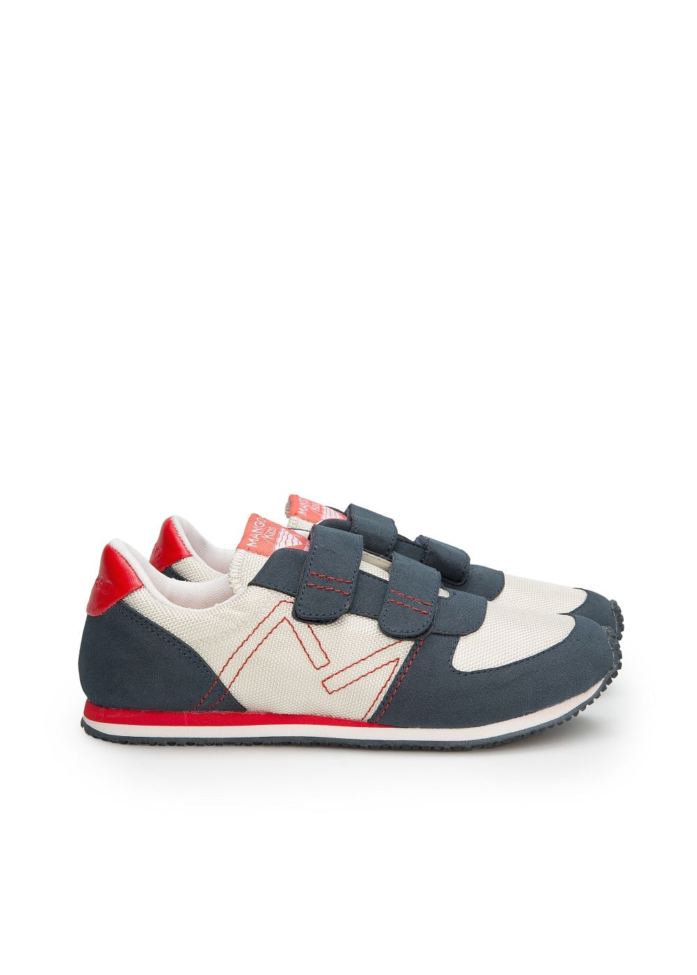 Tennis multicolores velcro | MANGO MAN
