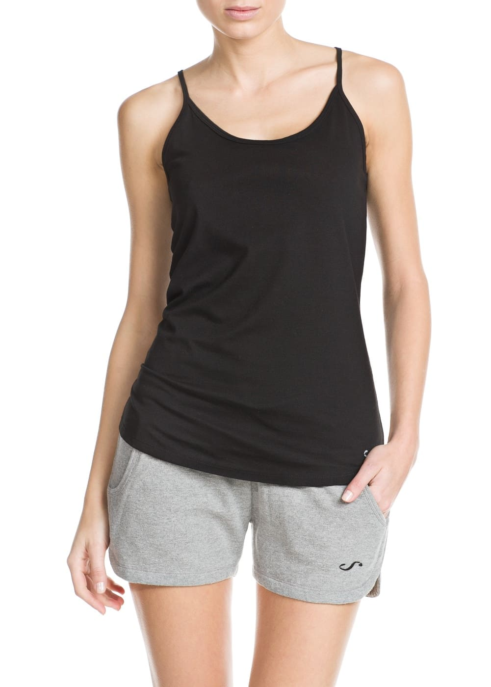 Fitness & running - ultra stretch top | MANGO