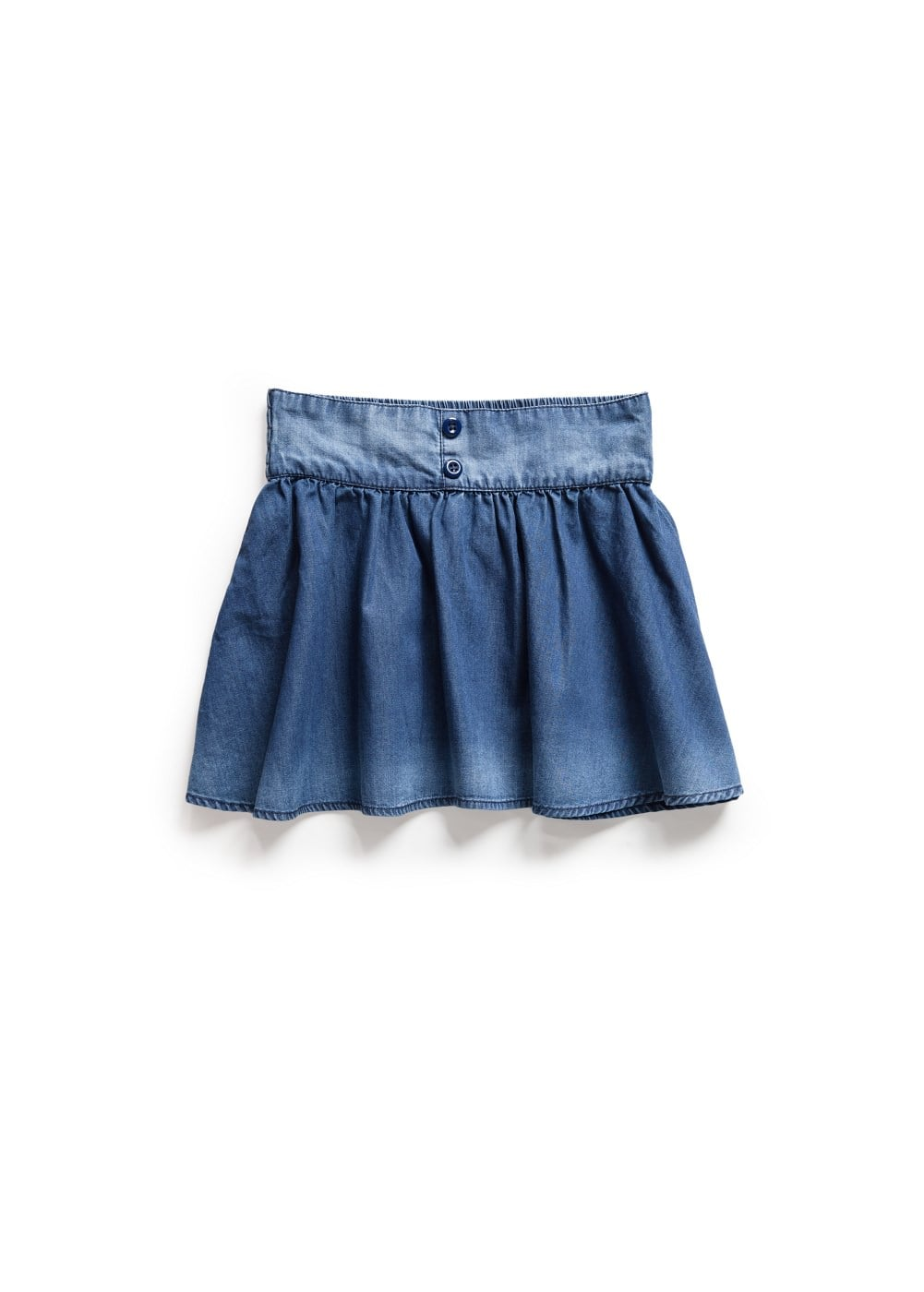 Falda denim vuelo | MANGO KIDS