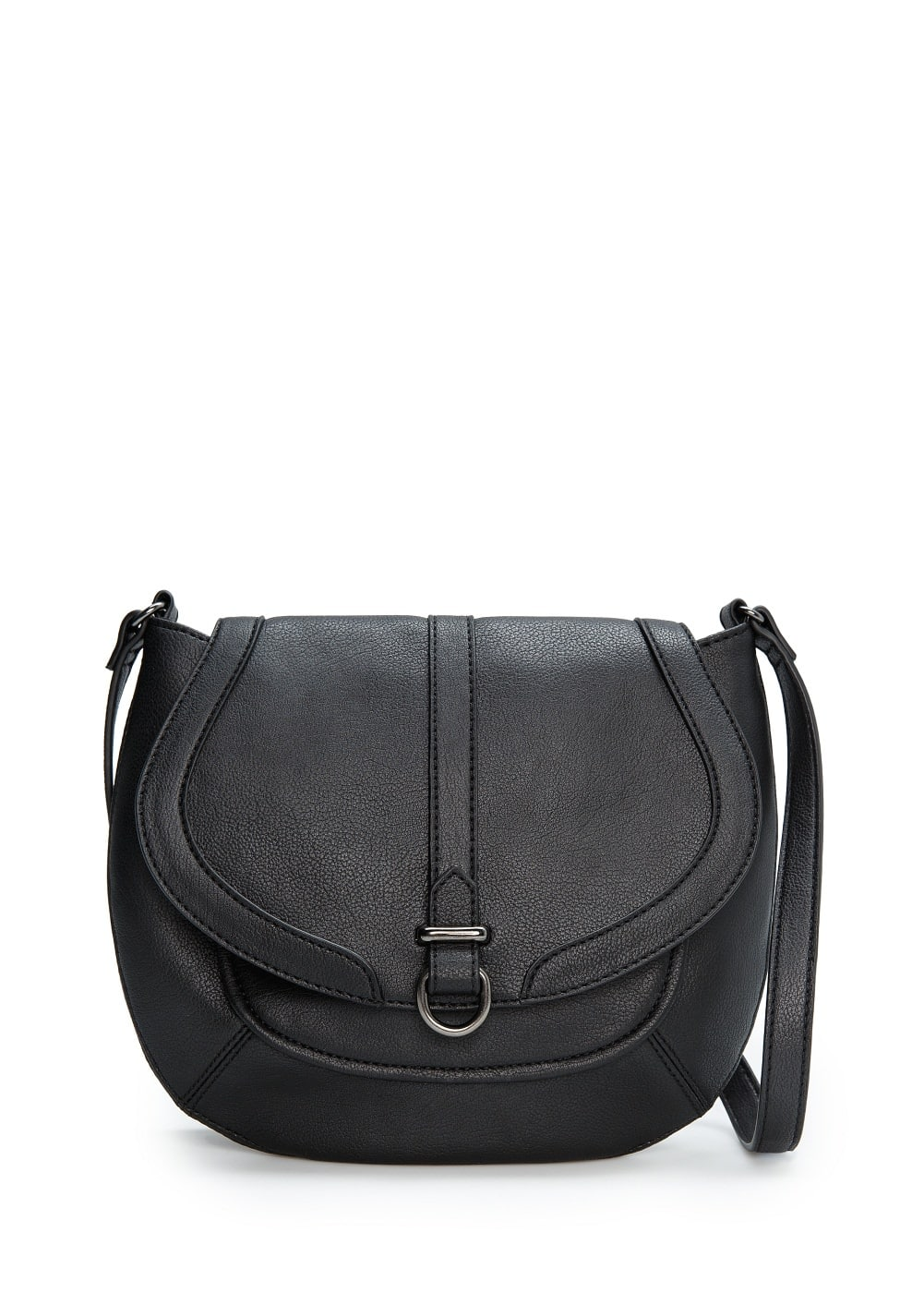 Cross body flap bag