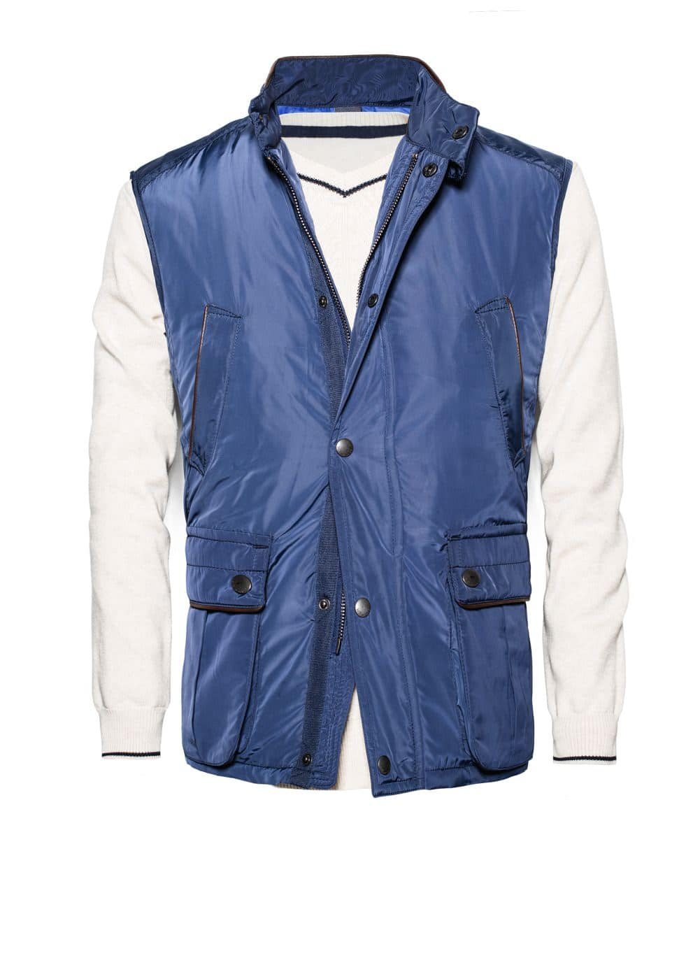 Trim padded gilet | MANGO MAN