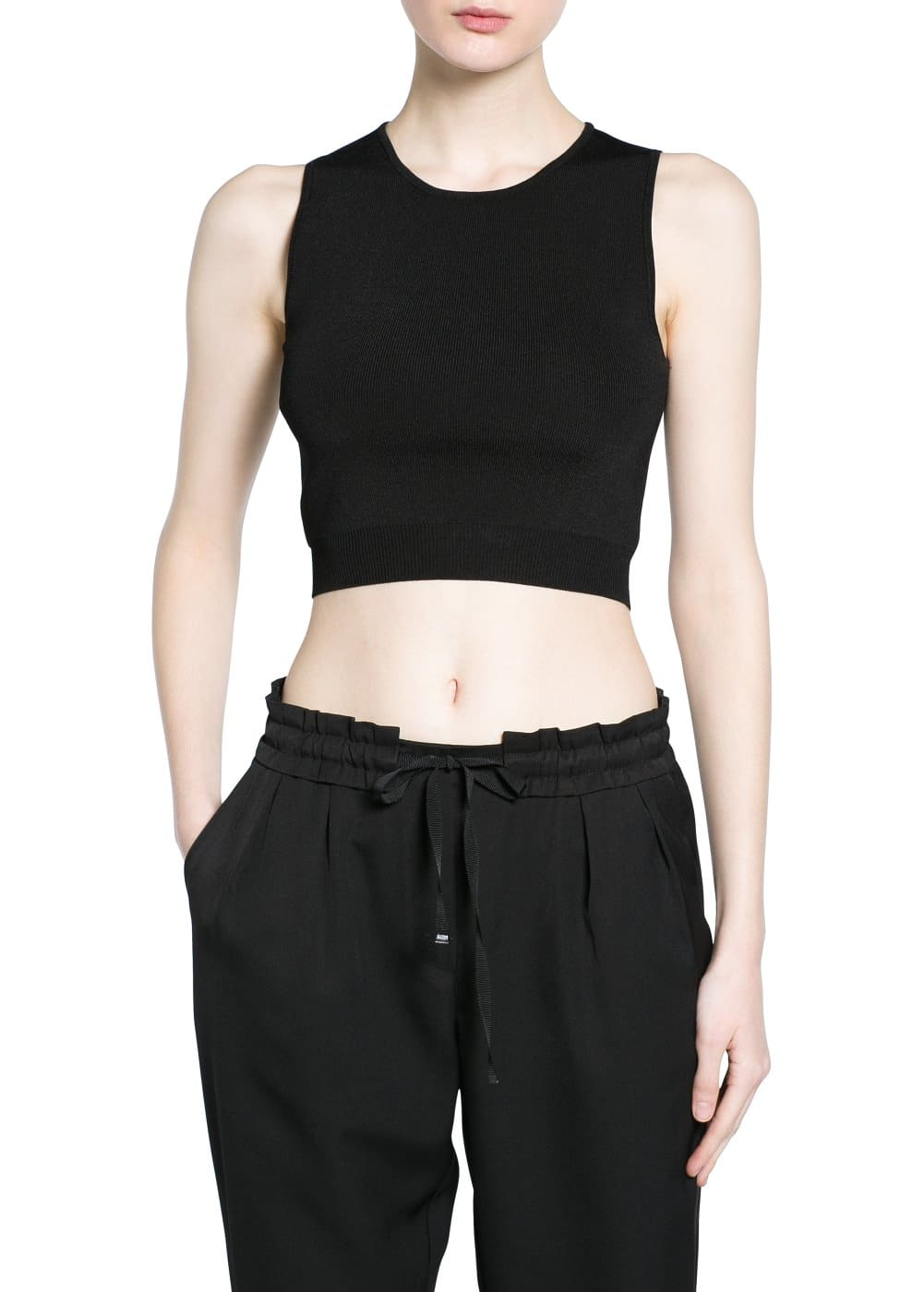 Top cropped | MANGO