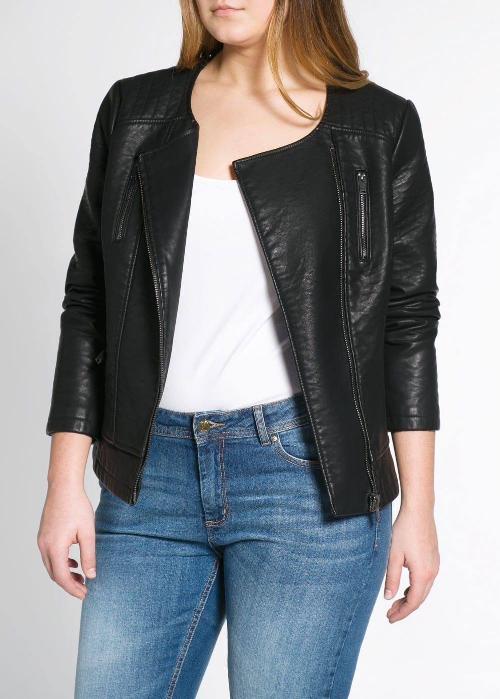 Biker jacket | VIOLETA BY MANGO