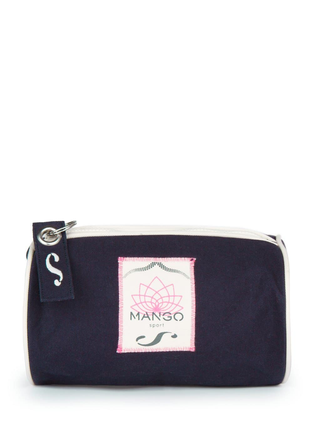 Canvas cosmetic bag | MANGO