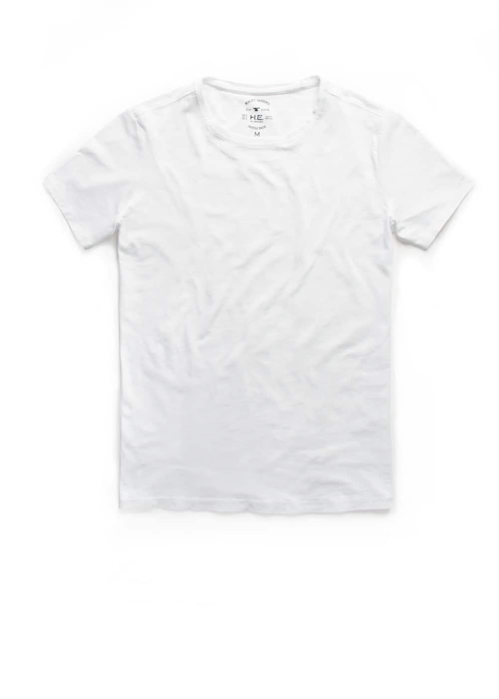 Round neck t-shirt | MANGO MAN