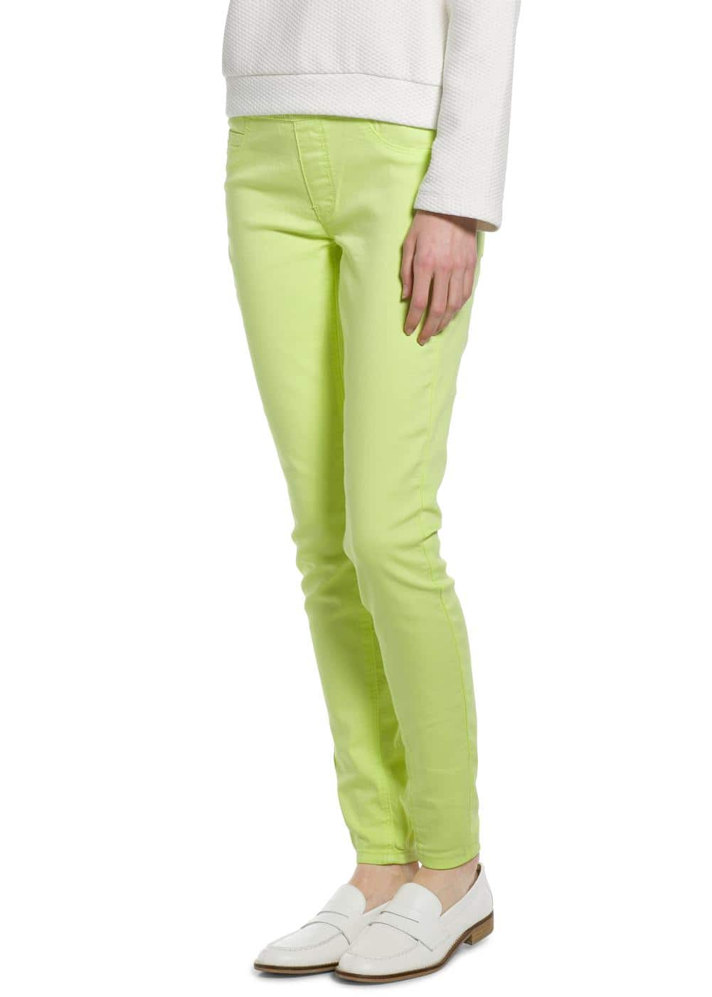 Color jeggings