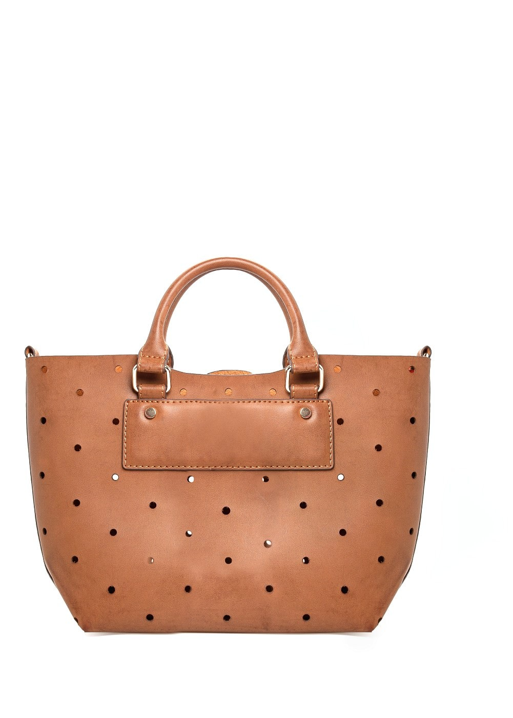 Laser-cut small bag | MANGO