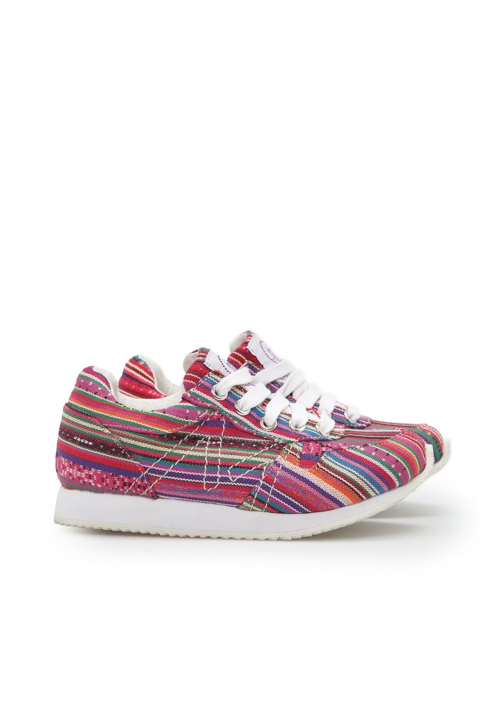 Ethnic canvas sneakers