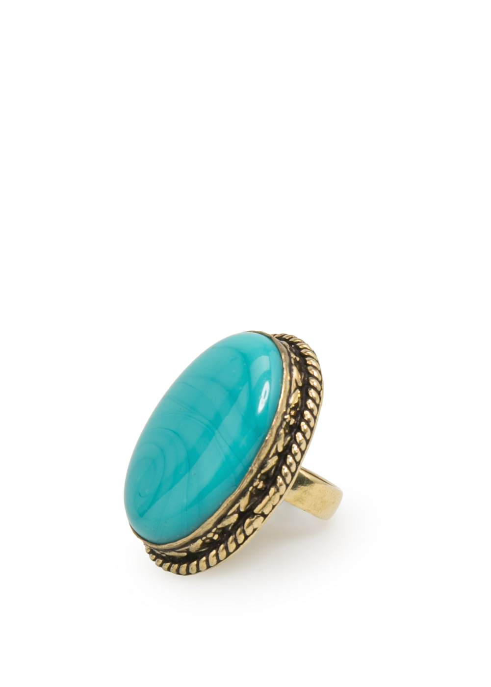 Rounded bead ring