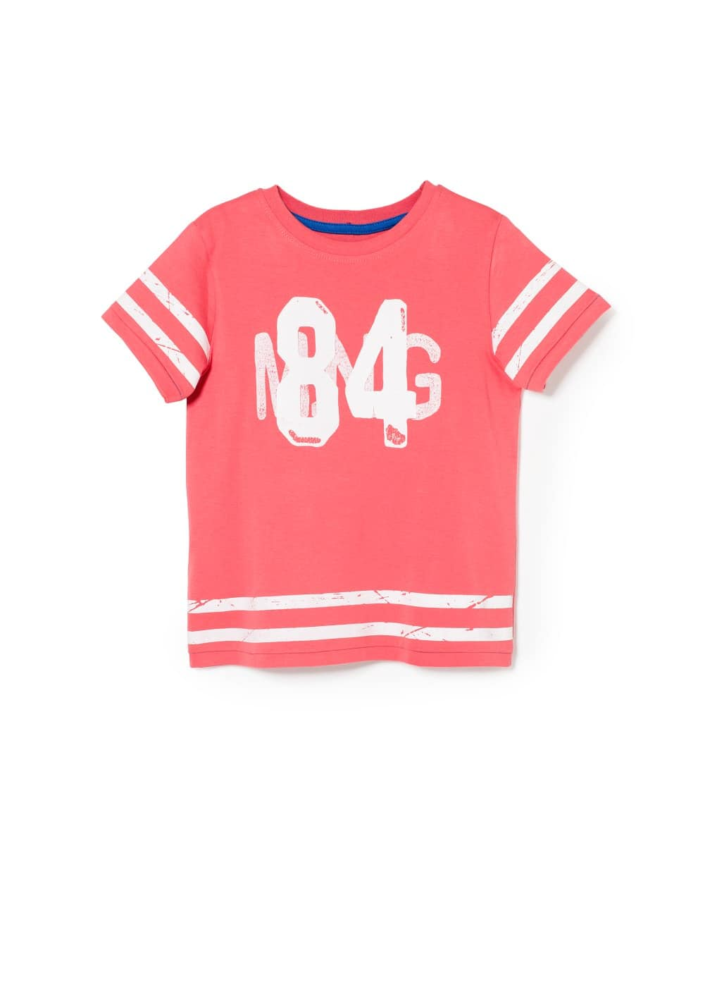 College cotton t-shirt | MANGO KIDS