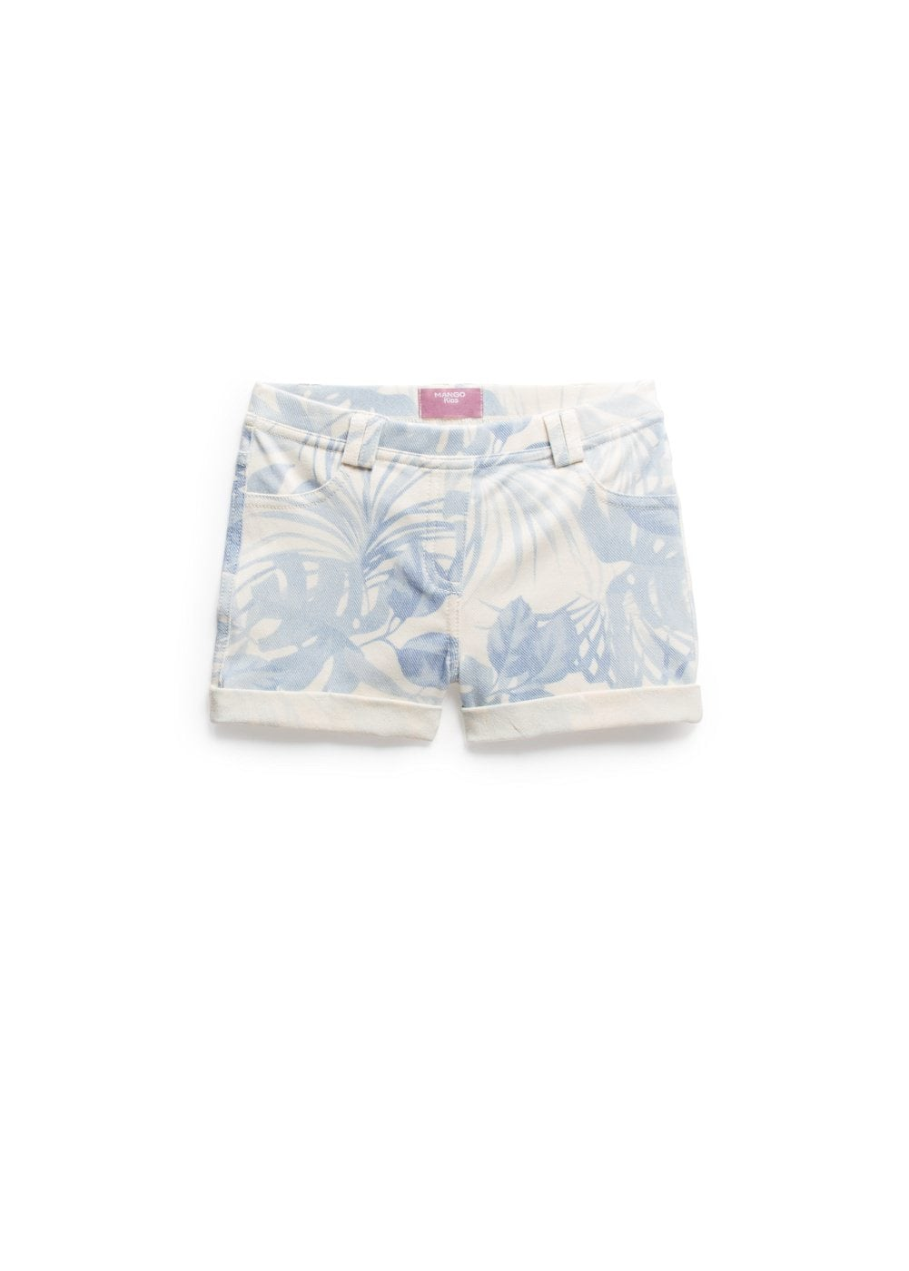 Short stampa tropicale