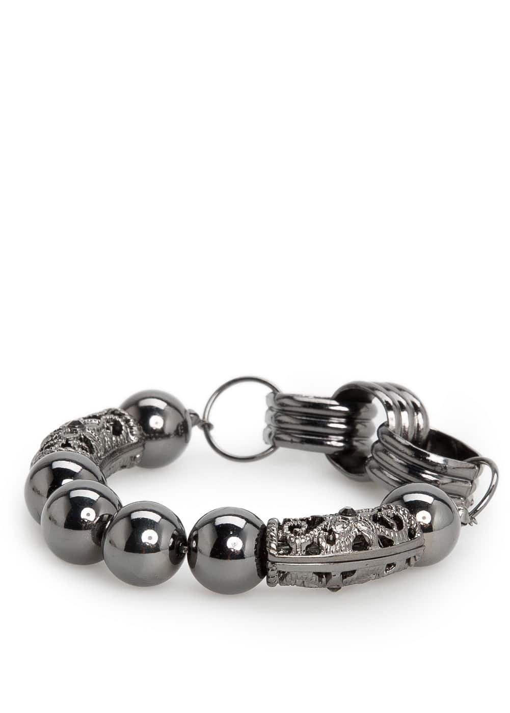 Ball and charm bracelet | MANGO