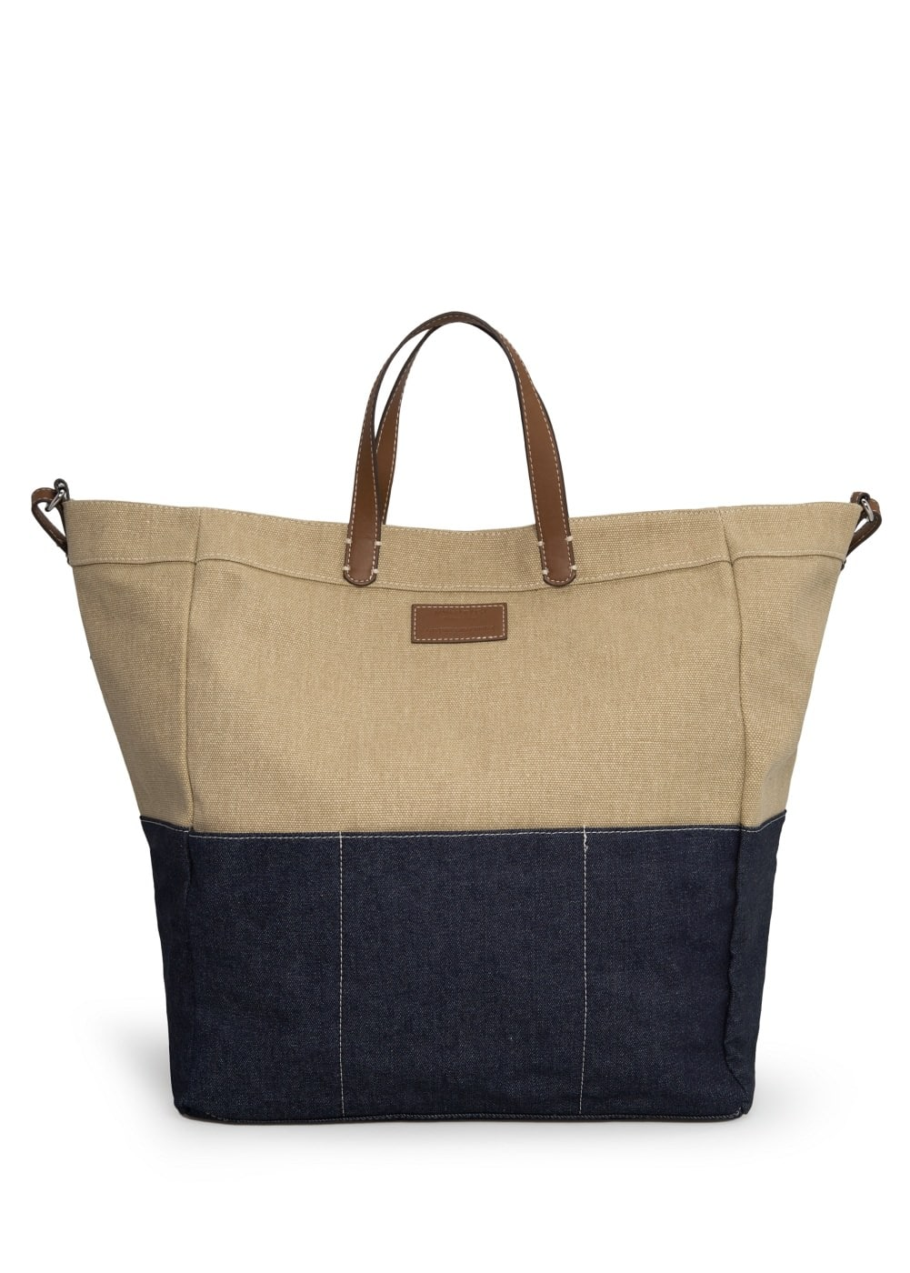 Mixed tote bag