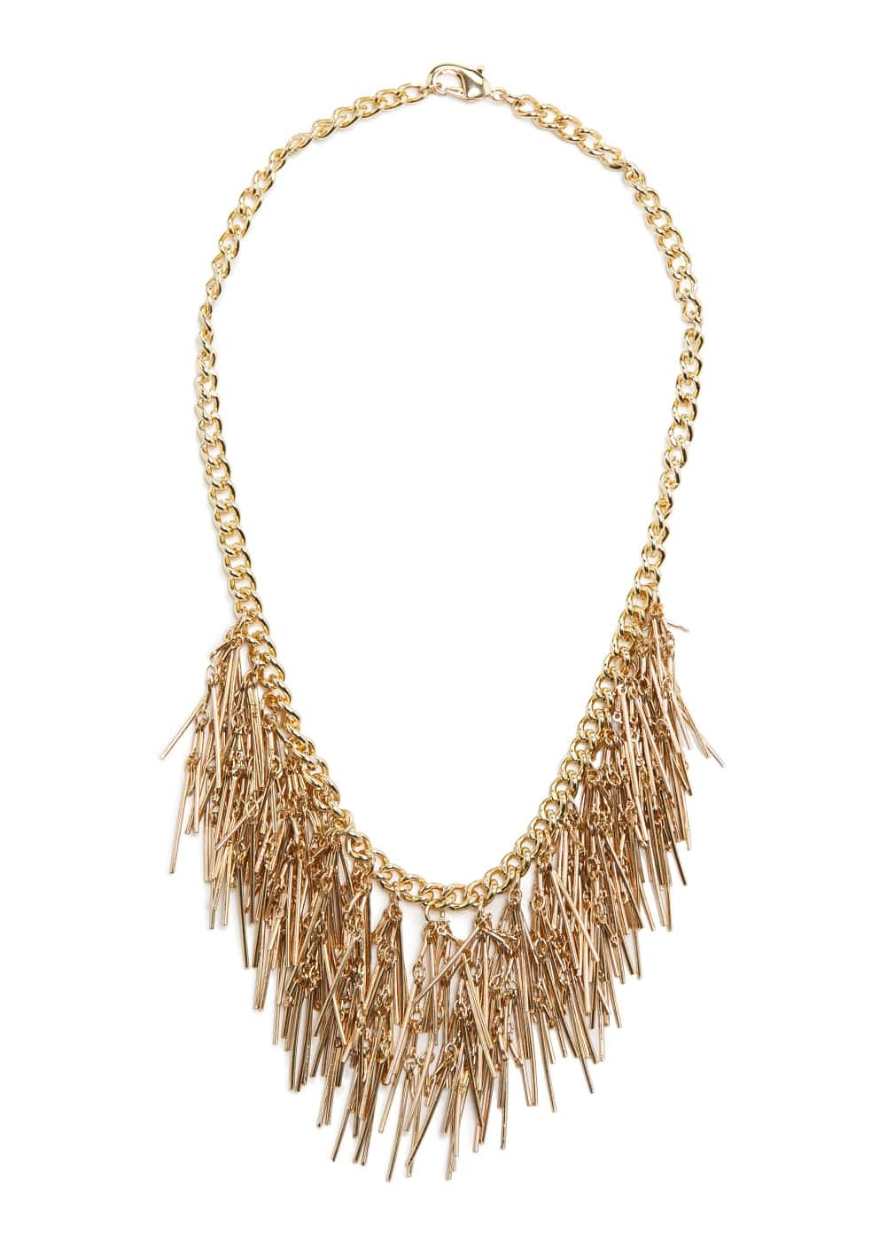 Waterfall piece necklace