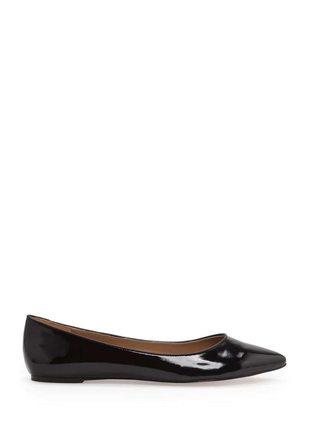 Pointed toe ballerinas | MANGO